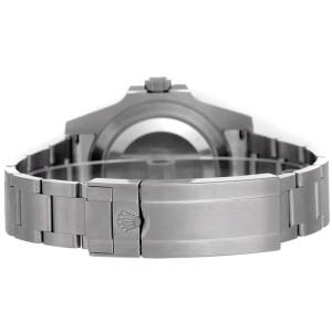 Rolex Submariner Steel Pre-Owned 16610 Custom DeepBlue
