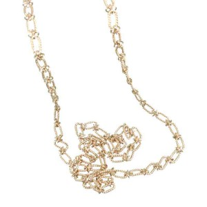 Tiffany & Co. 14K Yellow Gold Link Chain Necklace