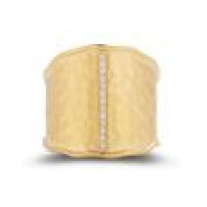 I.Reiss 14K Yellow Gold 0.08 Ring Size 7