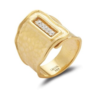 I. Reiss R2561Y 14k Yellow Gold diamonds0.2 H-SI Diamonds Rings