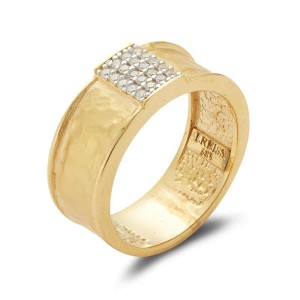 I. Reiss R2564Y 14k Yellow Gold diamonds0.12 H-SI Diamonds Rings