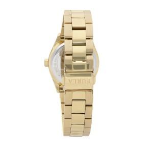 Furla Women's Eva Silver Dial Stainless Steel Watch