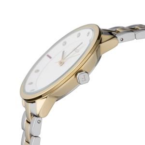 Furla Women's Metropolis White Dial Stainless Steel Bracelet