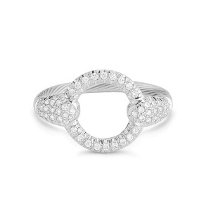 I. Reiss RM109W 14k White Gold diamonds 0.38 H-SI Diamonds Rings