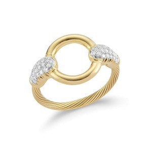 I. Reiss RM110Y 14k Yellow Gold diamonds0.25 H-SI Diamonds Rings