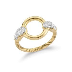 I. Reiss RM110Y 14k Yellow Gold diamonds0.25 H-SI Diamonds Rings
