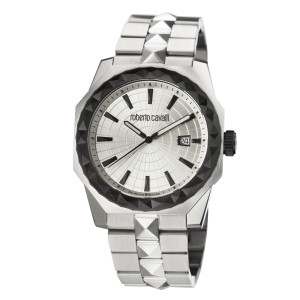 Roberto Cavalli Silver SS Two toned Stainless Steel  RV1G018M0086.1 Watch