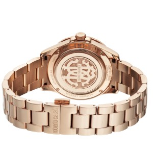 Roberto Cavalli Rose Rose Gold Stainless Steel  RV1L001M0036 Watch