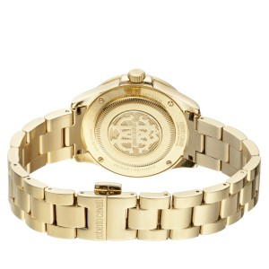 Roberto Cavalli Champagne Gold Stainless Steel  RV1L002M0106 Watch