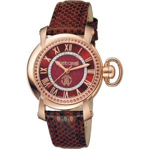 Roberto Cavalli Red Red Stainless Steel  RV1L004L0056 Watch