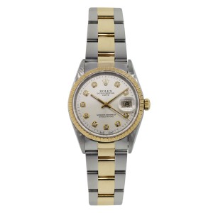 Rolex Date 15223 34mm S Series Two Tone Watch
