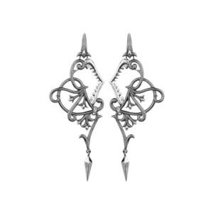 Stephen Webster Black Rhodium Stainless Steel Earrings