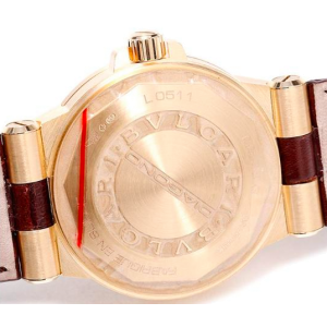 Bulgari Diagono DG35C6GLD 18K Yellow Gold 35mm Watch