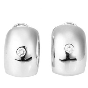 Piaget White Gold & Diamond Earrings
