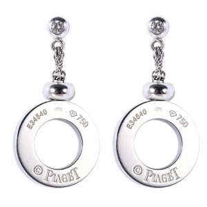 Piaget Possession White Gold & Diamond Earrings