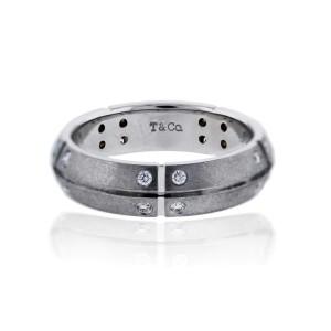 Tiffany Streamerica White Gold Diamond Ring