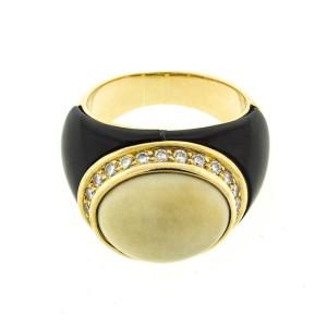 Chanel 18k Yg Heart Shape Diamond Pendant