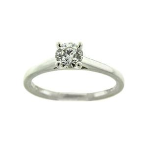 Debeers Platinum Diamond Engagement Ring