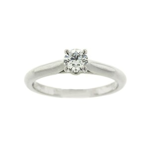 Cartier Platinum Solitaire Engagement Ring