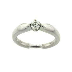 Bvlgari Platinum Diamond Engagement Ring