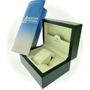 Rolex Datejust 36MM Steel Watch with 3.35CT Diamond Bezel/Aquamarine Blue Diamond Arabic Dial