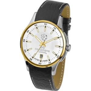Jacques Lemans U35F UEFA Champions League Analog Quartz Mens Watch