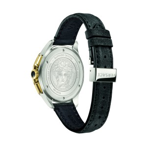 Versace Glaze Black 44MM VEBJ00218