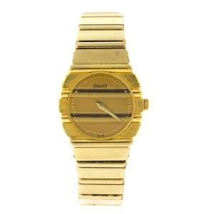 Piaget Polo 18K Yellow Gold Vintage Womens Watch