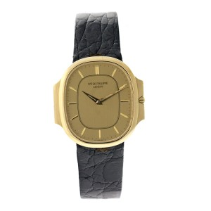 Patek Philippe Nautilus 18K Yellow Gold Vintage Mens Watch
