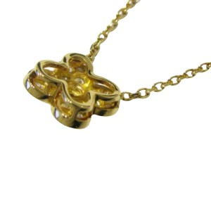 Van Cleef & Arpels Diamond Sapphire Trefle Necklace