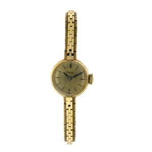 Piaget PGT7 18K Yellow Gold Vintage Womens Watch