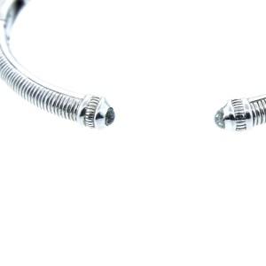Judith Ripka Natalie Amethyst Cushion-Shaped Cuff Bracelet