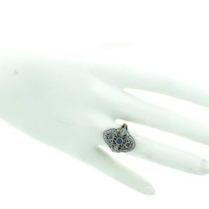 14K White Gold, Diamond & Tanzanite Ring