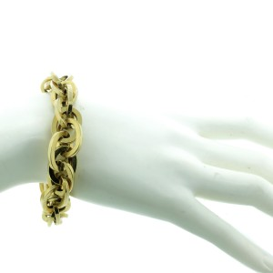 14K Yellow Gold Link Bracelet