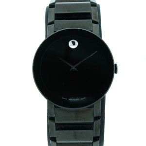 Movado Sapphire Black Dial Watch