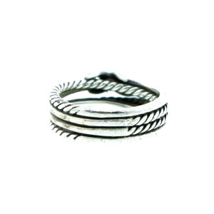 David Yurman X Crossover Ring With Diamond