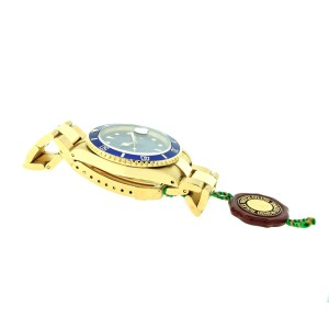Rolex Submariner 16618 40mm 18K Yellow Gold Watch