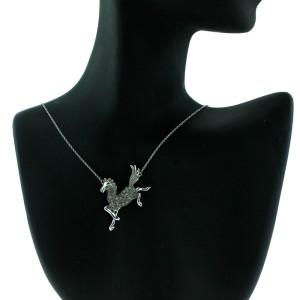 Le Vian Chocolate Diamond Horse Necklace