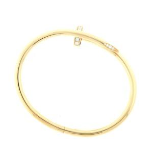 Cartier Juste Un Clou Bracelet Y/G DIA Size 18