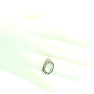 John Hardy Badu Bedeg Semiprecious Oval Ring