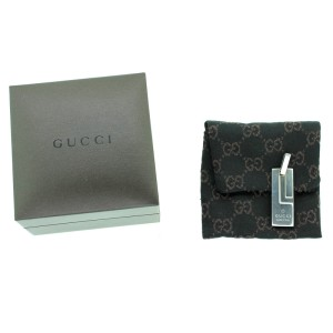 Gucci G Tag Pendant With box