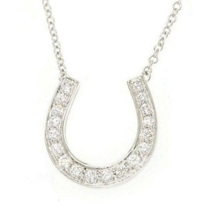 Tiffany & Co. PT950 Platinum Diamond Necklace