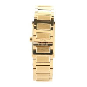 Hermes Tandem Quartz Watch Yellow Gold with Diamond Bezel and Mother of Pearl 19