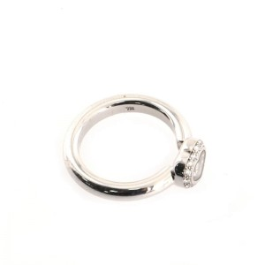 Chopard Happy Diamonds 1 Diamond Heart Ring 18K White Gold and Diamonds 6 - 52