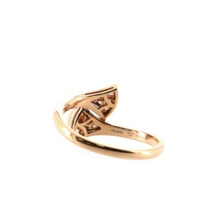 Bvlgari Divas Dream Ring 18K Rose Gold with Diamonds 7.5 - 56