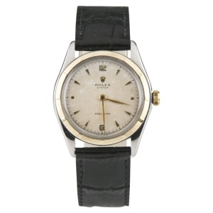 Rolex Oyster Precision 5059 Vintage 33mm Mens Watch