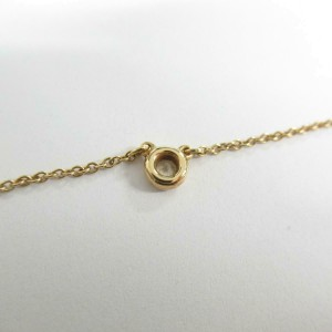 TIFFANY & CO 18k pink gold By the yard necklace RCB-37