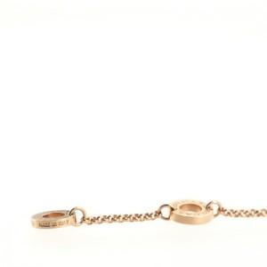 Bvlgari Bvlgari Circle Pendant Necklace 18K Rose Gold with Mother-of-Pearl