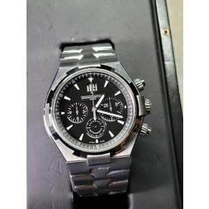 Vacheron Constantin Overseas Chronograph Stainless Steel Men's Watch, preowned.49150/B01A-9097
