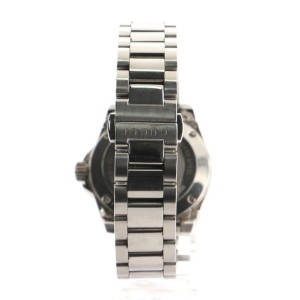 Gucci Dive Quartz Watch Stainless Steel with Diamond Bezel and Mother of Pearl 32